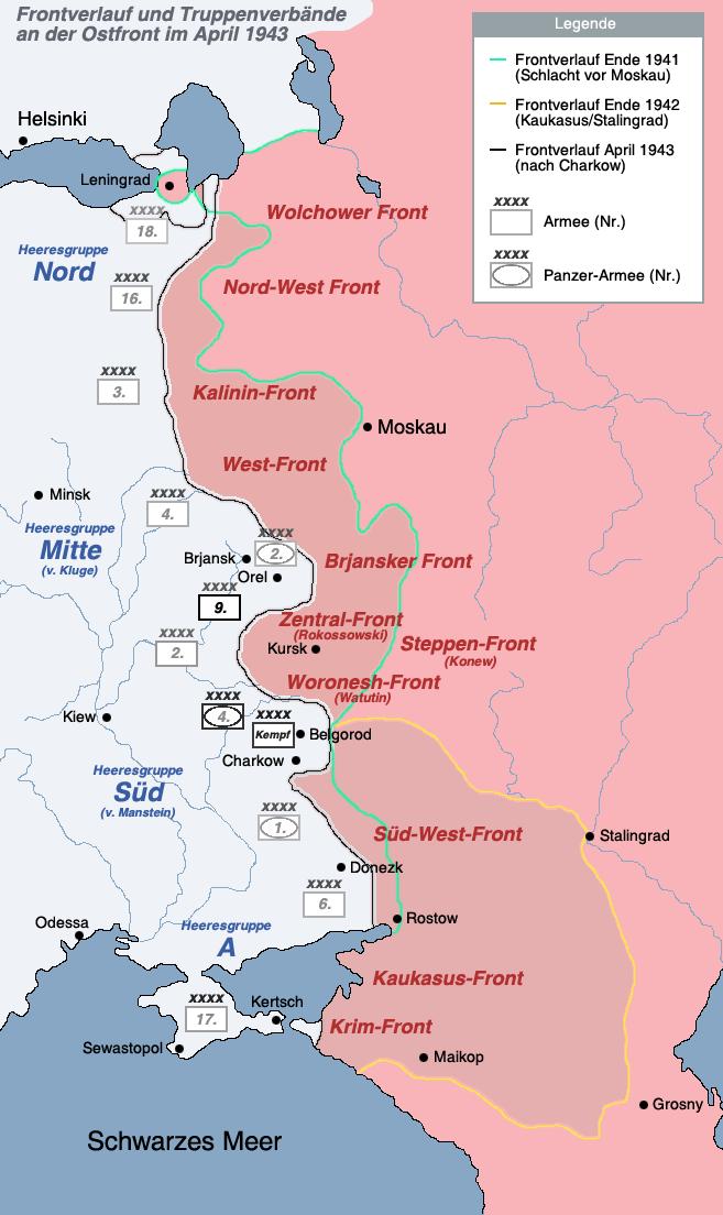 Schlacht Um Stalingrad Karte.Sowjetunion Zweiter Weltkrieg Ostfront
