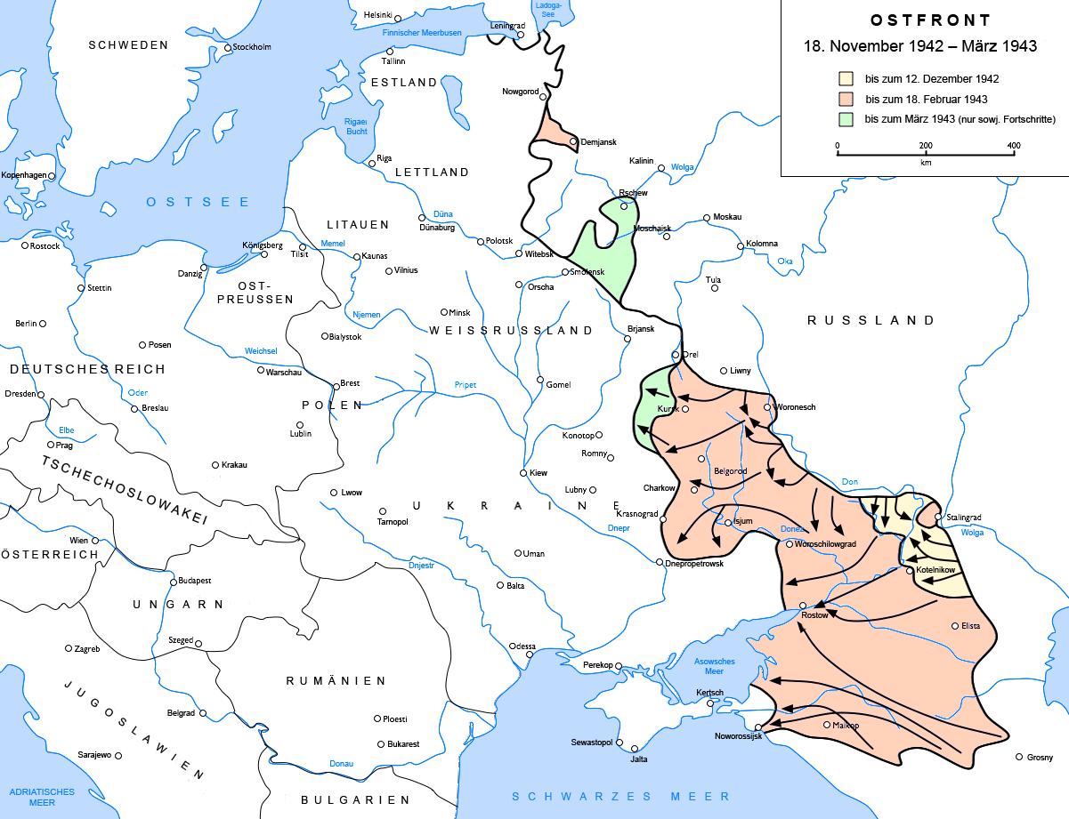 Schlachtfelder Des 2 Weltkriegs Karte.Sowjetunion Zweiter Weltkrieg Ostfront